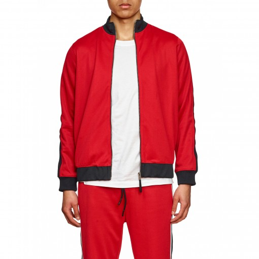 Striped Sleeve Track Suit