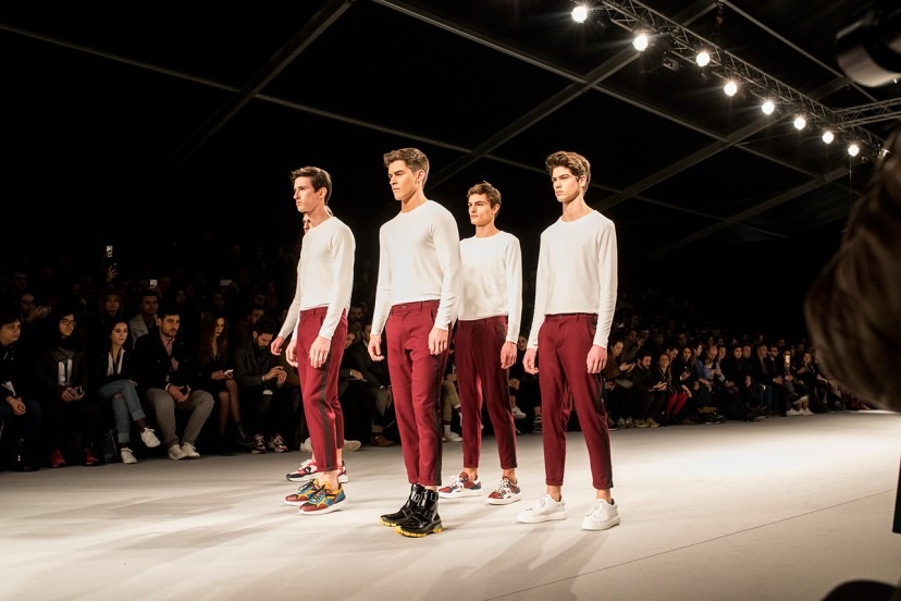 On the runway of the 42nd Portugal Fashion